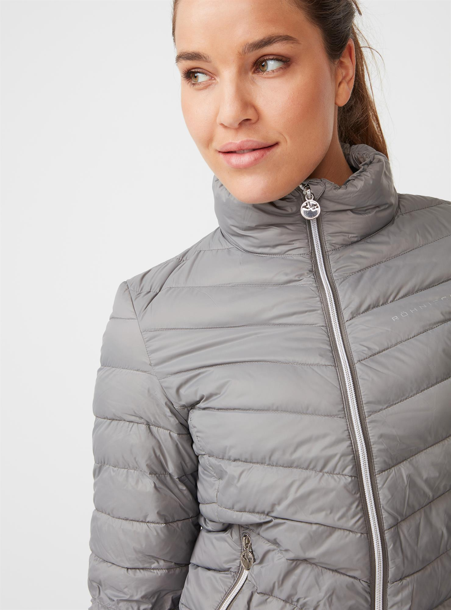 Down jacket Light greige Ladies | H