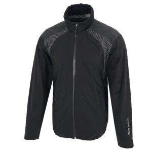 Galvin Green Archie C-Knit Gore-Tex Waterproof Mens Golf Jacket Carbon Black