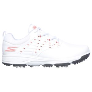 Skechers Pro 2 Ladies Golf Shoes White/Pink