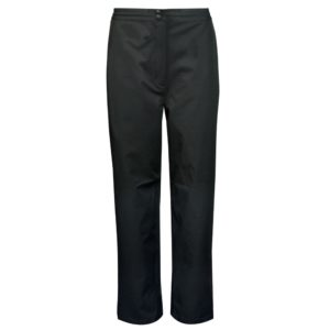 Sunderland Montana Ladies Lightweight Waterproof Golf Trousers Black 27 Inch Leg