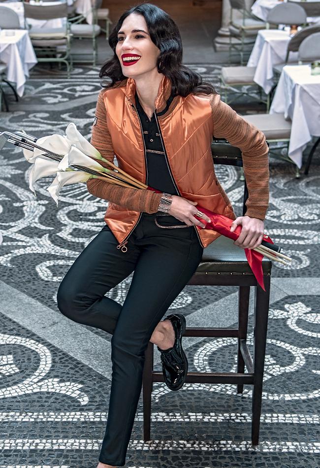 Chervo ladies copper jacket
