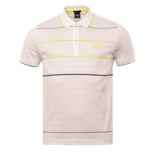 Hugo Boss Mens Paddy 5 Polo Shirt White