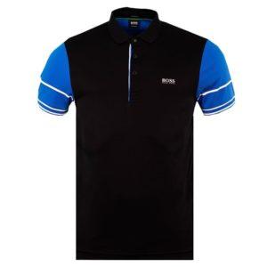 Hugo Boss Mens Paule 6 Polo Shirt Black