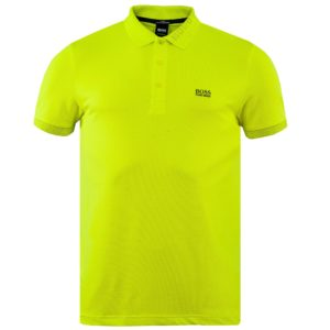 Hugo Boss Paule Polo Shirt Bright Yellow