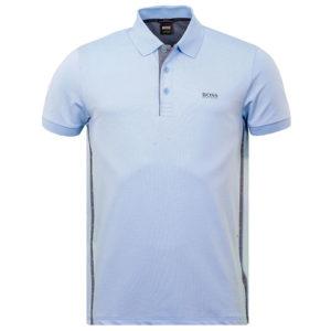 Hugo Boss Mnes Paule Blue Polo Shirt