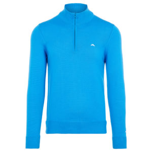 J Lindeberg Kian Tour Merino Wool Jumper True Blue
