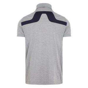 J Lindeberg KV Regular Fit TX Polo Shirt Stone Grey