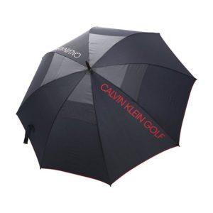 Calvin Klein Storm Umbrella Navy/Red