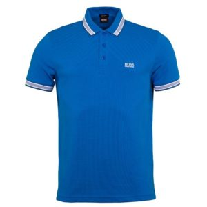 Hugo Boss Paddy Polo Shirt Bright Blue