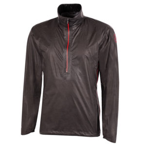 Galvin Green Ashby Shakedry Mens Gore-Tex Golf Jacket Ash Grey/Red