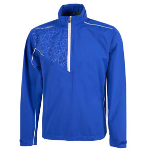 Galvin Green Alex Paclite Gore-Tex Mens Golf Jacket Surf Blue/Whte