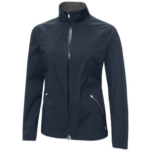 Gavlin Green Adele Gore-Tex Paclite Waterproof Ladies Golf Jacket Navy