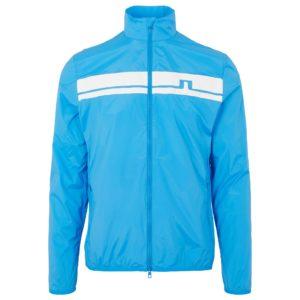 J Lindeberg Lee Light Stretch Wind Pro Jacket True Blue