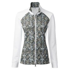 Daily Sports Esmeralda Ladies Golf Jacket White/Cypress