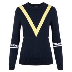 J Lindeberg Adrienne Ladies Golf Sweater Navy