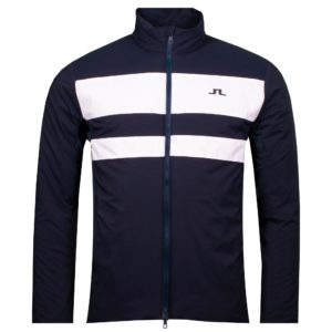 J Lindeberg Packlight Padded Golf Jacket Navy