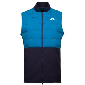 J Lindeberg Shield Golf Vest Navy