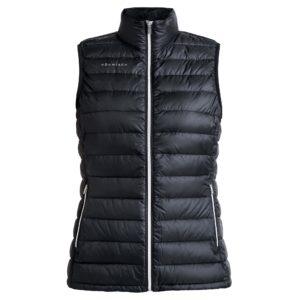 Rohnisch Shine Light Down Vest Black