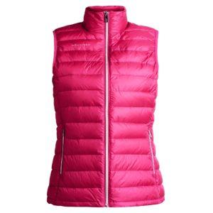 Rohnisch Shine Light Down Vest Lily Raspberry