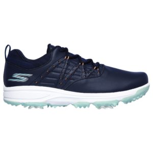 Skechers Pro 2 Ladies Golf Shoes Navy/Turquoise