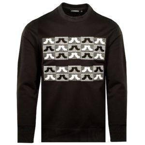 J Lindeberg Hurl Embroidery Sweatshirt Black