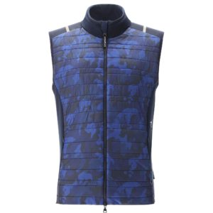 Chervo Esse Pro Therm Mens Golf Gilet Camo Navy