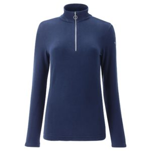 Chervo Thiene Quarter Zip Ladies Thermal Golf Base Layer Navy