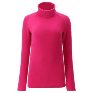 Chervo Titikaka Roll Neck Thermal Ladies Base Layer Pink