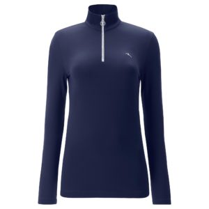 Chervo Trip Pro Therm Brush Jersey Ladies Golf Base Layer Navy