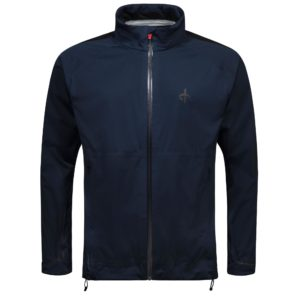 Cross Edge Waterpoof Mens Golf Jacket Navy