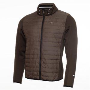 Calvin Klein Golf Wrangell Hybrid Golf Jacket Olive Green
