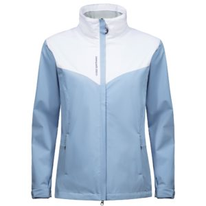 Cross Cloud Waterproof Ladies Golf Jacket Forever Blue