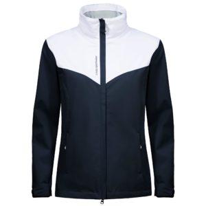 Cross Cloud Waterproof Ladies Golf Jacket Navy