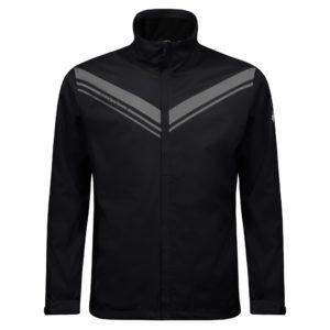 Cross Cloud Waterproof Mens Golf Jacket Black