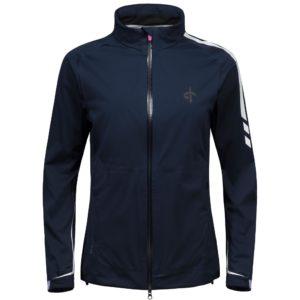 Cross Edge Waterproof Ladies Golf Jacket Navy