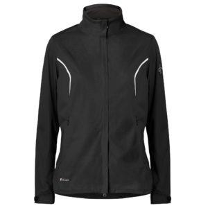 Cross Pro Waterproof Ladies Golf Jacket Black