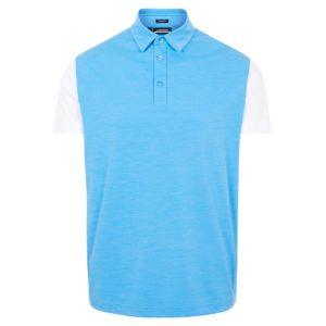 J Lindeberg Harry Regular Fit Polo Shirt Ocean Blue-XL