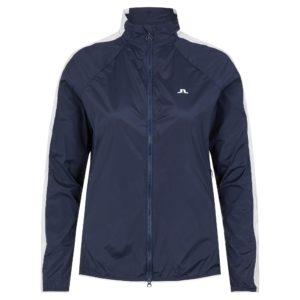 J Lindeberg Kia Ladies Golf Windproof Golf Jacket Navy-L
