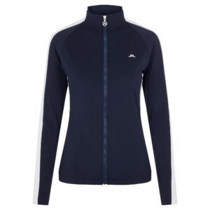 J Lindeberg Marie Ladies Golf Mid Layer Navy-XL