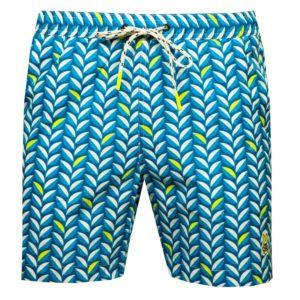 Psycho Bunny Twyford Swim Shorts Batik Blue-5