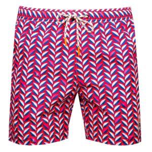 Psycho Bunny Twyford Swim Shorts Pink Raspberry-5