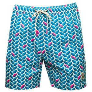 Psycho Bunny Twyford Swim Shorts White-6