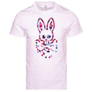 Psycho Bunny Alexander Graphic Tee White-6