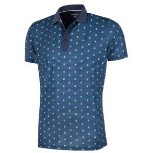 Galvin Green Monty Ventil8+ Golf Polo Shirt Navy/White-XL