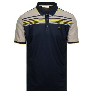 Calvin Klein Golf Nelson Polo Shirt Navy-XL