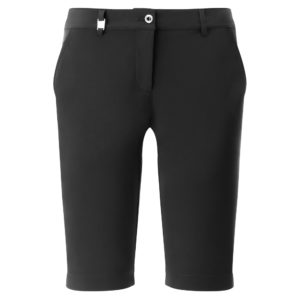 Chervo Ghiaia Superflex Ladies Golf Bermuda Shorts Black-16