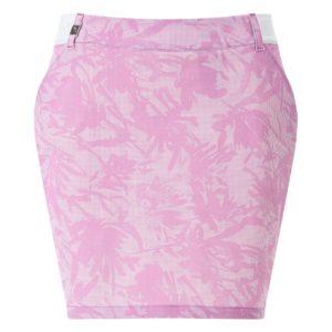 Chervo Jene Deco Print Ladies Golf Skort Pink-14