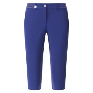 Chervo Splendido Superfelx Ladies Golf Capris Blue-16