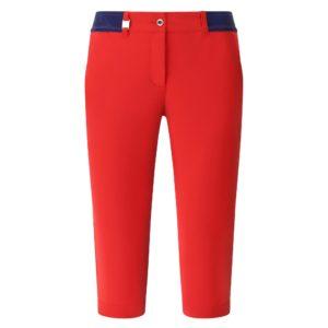 Chervo Splendido Superfelx Ladies Golf Capris Red-16