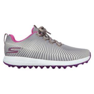 Skechers Max Swing Ladies Golf Shoes Grey/Purple-8